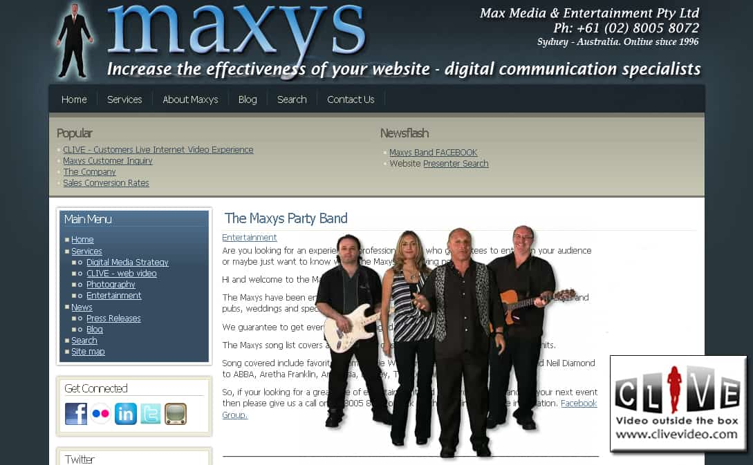 The Maxys Party Band